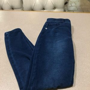 Justice butter soft denim leggings size 14